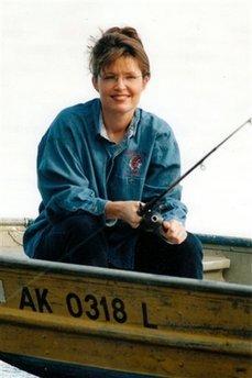 Sarah Palin Gone Fishin'