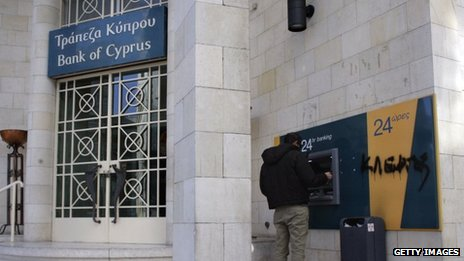 Bank of Cyprus - BBC - Getty Image