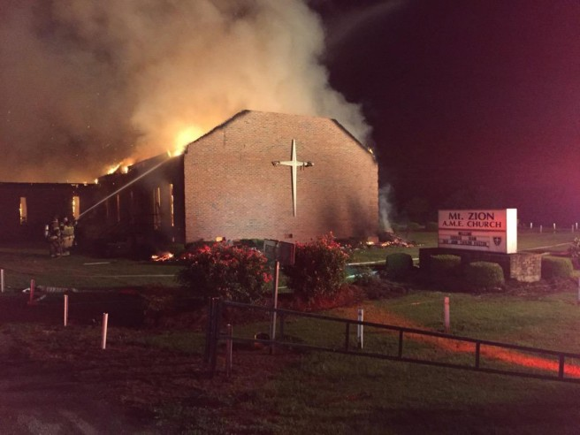 Church fires - Washington Post
